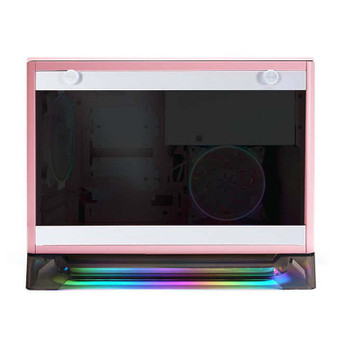 In Win A1 Prime Tempered Glass Mini Tower Mini-ITX Case with 750W PSU - Pink Product Image 2
