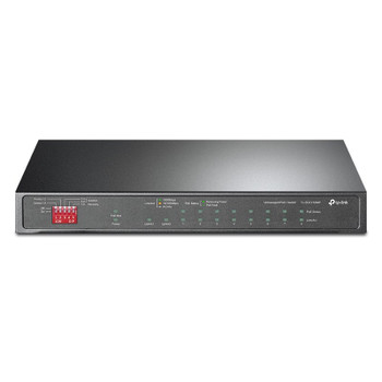TP-Link TL-SG1210MP 10-Port Gigabit Fanless Easy Smart Switch with 8-Port PoE+ Main Product Image