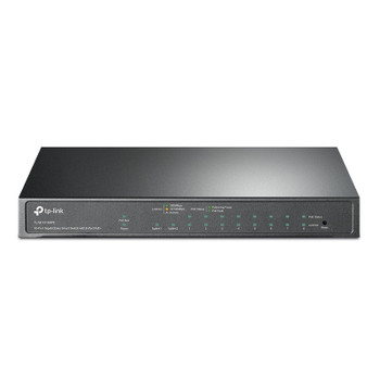 TP-Link TL-SG1210MPE 10-Port Gigabit Fanless Easy Smart Switch with 8-Port PoE+ Main Product Image