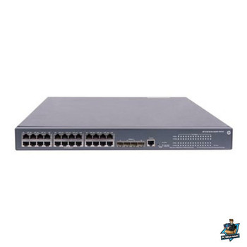 HPE 5120 24G POE+ (370W) SI Switch  Main Product Image