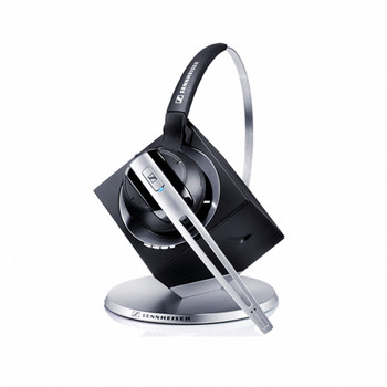 EPOS | Sennheiser  DW10 ML Office - DECT Wireless Office headset with base station, for desk phone and PC, convertible (headband or earhook) Teams Main Product Image