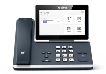 Yealink MP58 Microsoft Teams Android 9.0 Phone, 7in Colour Touch Screen, HD Audio, Dual Gig Ports, Built in Bluetooth and WiFi, Wireless Handset Product Image 2