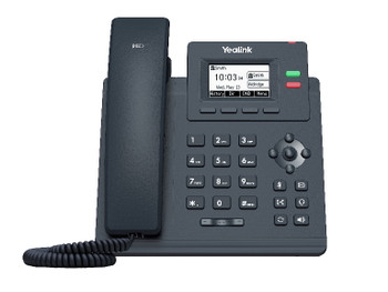 Yealink T31P 2 Line IP phone, 132x64 LCD, PoE. No Power Adapter included Product Image 2