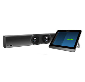 Yealink A30 Zoom Collaboration Bar for Medium Room, Two Cameras Design, Dual Screen, Built-in Bluetooth and dual-band Wifi, Content Sharing Main Product Image