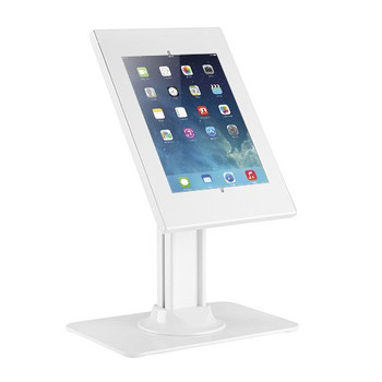"""Brateck Anti-theft Countertop Tablet Kiosk Stand for 9.7""""/10.2"""" Ipad, 10.5"""" Ipad Air/Ipad Pro, 10.1in Sansung Galaxy TAB A (2019)- White Main Product Image"""