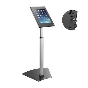 "Brateck Anti-theft Height Adjustable Tablet Kiosk Stand  9.7""/10.2"" Ipad, 10.5"" Ipad Air/Ipad Pro, 10.1in Sansung Galaxy TAB A (2019) Main Product Image"