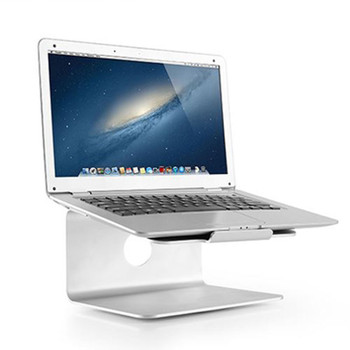 Brateck Deluxe Aluminium Desktop Stand for most 11in-17in Laptops Product Image 2