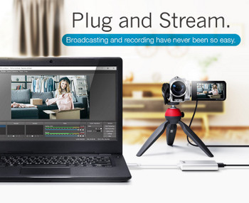Aten Camlive HDMI to USB-C UVC Video Capture, 1080p@60fps, Slim Design, Plug and Play Product Image 2