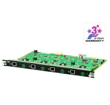 Aten VM7514  4 Port HDBaseT Input Board for VM1600A/VM3200, HDBaseT Connectivity, Bi-directional RS-232 channel, Bi-directional IR channel Main Product Image