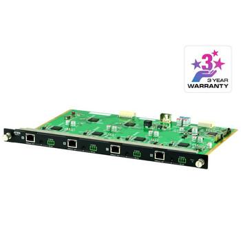 Aten VM8514 4 Port HDBaseT Output Board for VM1600A/VM3200, HDBaseT Connectivity, Bi-directional RS-232, Bi-directional IR channel Main Product Image