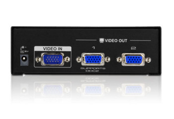 Aten Video Splitter 2 Port VGA Splitter 450Mhz, 2048x1536, Cascadable to 3 levels (Up to 8 Outputs) (LS) Product Image 2