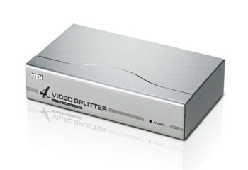 Aten Video Splitter 4 Port VGA Splitter 350MHz, 1920x1440@60Hz Max, Cascadable to 3 levels (Up to 64 Outputs) Main Product Image