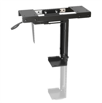 Brateck Adjustable Under-Desk ATX Case Mount with Sliding track, Up to 10kg,360° Swivel Main Product Image