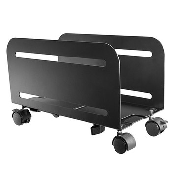 Brateck Mobile ATX Case Stand, For most ATX cases, up to 10kg, 119-209mm Main Product Image