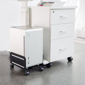 Brateck Mobile ATX Case Stand, For most ATX cases, up to 10kg, 119-209mm Product Image 2