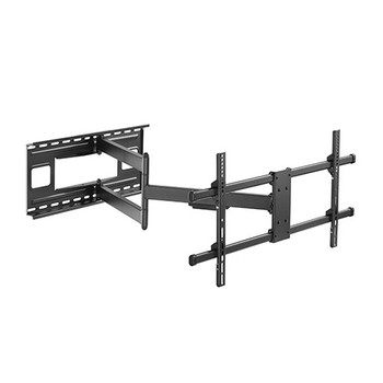 Brateck Extra Long Arm Full-Motion TV Wall Mount For Most 43in-80in Flat Panel TVs Up to 50kg VESA 200x200/300x200/300x300/400x200/400x300/MAX 800x400 Main Product Image