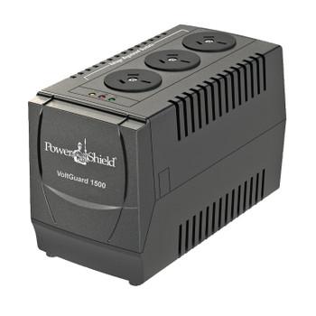 PowerShield VoltGuard 1500VA / 750W AVR - 750 Watt Voltage Stabliser. No internal batteries Main Product Image