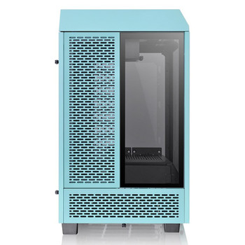 Thermaltake The Tower 100 Tempered Glass Mini-ITX Case - Turquoise Edition Product Image 3