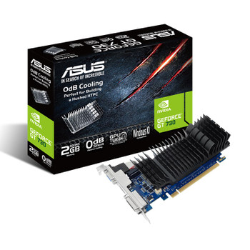 Asus GeForce GT 730 2GB GDDR5 Video Card Main Product Image