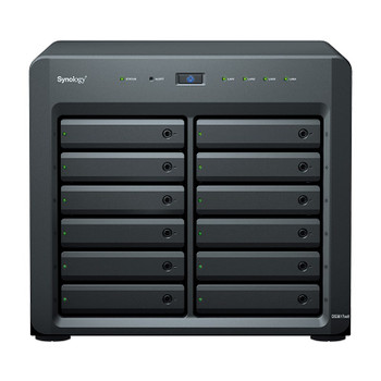 Synology DiskStation DS3617xsII 12-Bay Diskless NAS D-1527 Quad-Core 2.2GHz 16GB Main Product Image