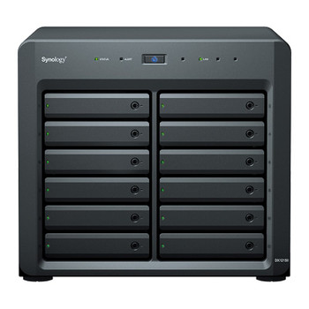 Synology DX1215II 12-Bay Diskless NAS Expansion Unit Main Product Image