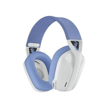 Logitech G435 LIGHTSPEED Wireless Gaming Headset - White Main Product Image