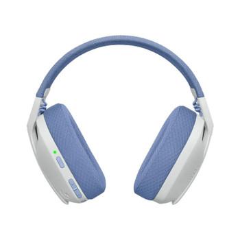 Logitech G435 LIGHTSPEED Wireless Gaming Headset - White Product Image 2