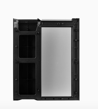 Corsair Crystal 280X Front Panel with Tempered Glass, Black Product Image 2