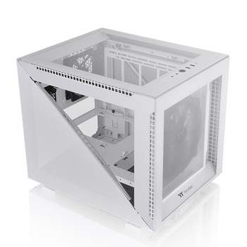 Thermaltake Divider 200 Tempered Glass Micro Case - Snow Edition Main Product Image