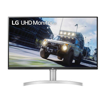 LG 32UN550-W 32in UHD HDR FreeSync VA Monitor Main Product Image