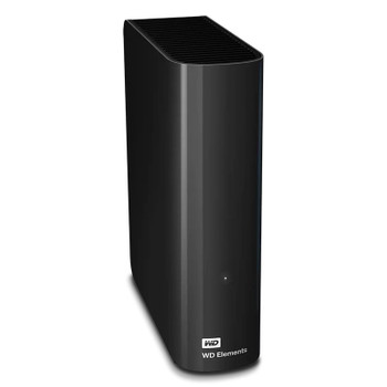 Western Digital WD Elements 16TB USB 3.0 Desktop External Hard Drive WDBBKG0160HBK Main Product Image