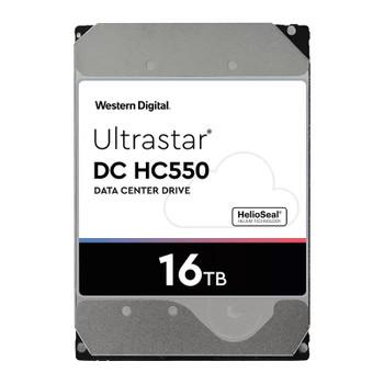 Western Digital WD Ultrastar DC HC550 16TB 3.5in 512e SAS 7200RPM Hard Drive 0F38356 Main Product Image
