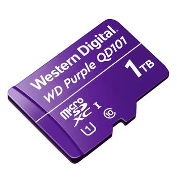 Western Digital WD Purple SC QD101 1TB microSDXC U1 Class 10 Memory Card Product Image 2