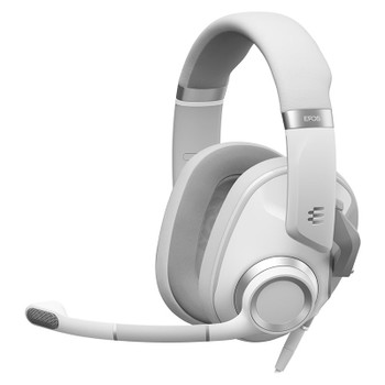 EPOS Gaming H6 PRO Closed Back Gaming Headset - Ghost White Main Product Image