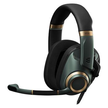 EPOS Gaming H6 PRO Closed Back Gaming Headset - Racing Green Main Product Image