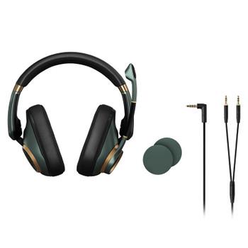 EPOS Gaming H6 PRO Closed Back Gaming Headset - Racing Green Product Image 2