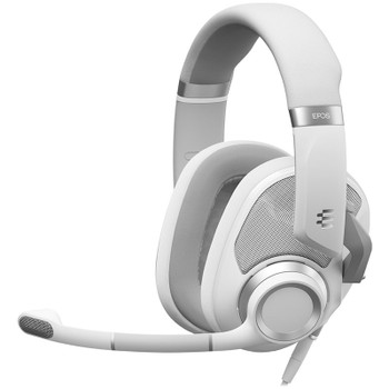 EPOS Gaming H6 PRO Open Back Gaming Headset - Ghost White Main Product Image