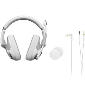 EPOS Gaming H6 PRO Open Back Gaming Headset - Ghost White Product Image 2