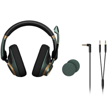 EPOS Gaming H6 PRO Open Back Gaming Headset - Racing Green Product Image 2