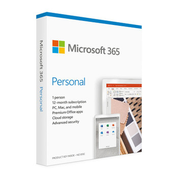 Microsoft 365 2021 Personal 1 Year Licence - Medialess Retail