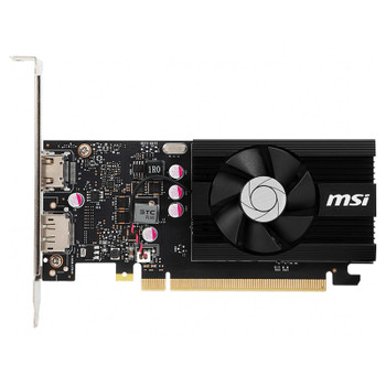 MSI GeForce GT 1030 2GD4 LP OC 2GB Video Card Product Image 2