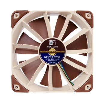 Product image for Noctua NF-F12 PWM 120mm Fan | AusPCMarket.com.au