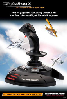 Thrustmaster T.Flight Stick X Joystick Product Image 2