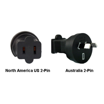 Product image for North America US to Australia Power Adapter Plug   AusPCMarket Australia