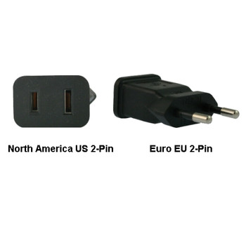 Product image for North America US to Euro EU Power Adapter Plug | AusPCMarket Australia