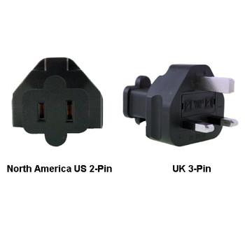 Product image for North America US to UK Power Adapter Plug | AusPCMarket Australia