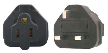 Product image for US 3 Pin to UK 3 Pin Plug Adapter | AusPCMarket Australia