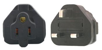 Product image for US 3 Pin to UK 3 Pin Plug Adapter | AusPCMarket Australia
