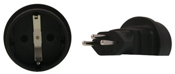 Product image for Schuko to Swiss 3 Pin Plug Adapter | AusPCMarket Australia