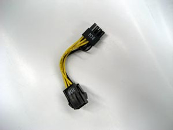 Product image for VGA 6-Pin Female to 8-Pin Male PCI-E 2.0 Adapter Power Cable | AusPCMarket Australia